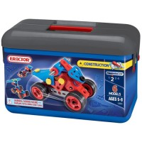 Erector Advanced Toolbox - 6 Models Plastic Building Set