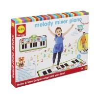 Melody Mixer Feet Playing Piano