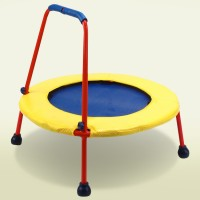 Kids Folding Trampoline - Square Busy Bouncer
