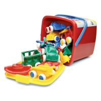 First Vehicles 15 pc  Toddler Playset Bucket