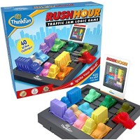 ThinkFun Rush Hour Traffic Jam Brain Game and STEM Toy for Boys Girls Age 8 Up Tons of Fun With Over 20 Awards Won International Bestseller Years