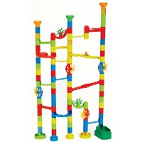 Edushape Marbulous Marble Run 100 Piece Set Multicolor