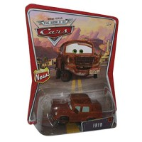 Fred Disney Pixar Cars Mattel World of Cars Background Card With New Sign Symbol