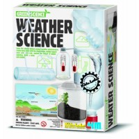 4M Weather Station Kit - Climate Change Global Warming Lab STEM Toys Educational Gift for Kids & Teens Girls Boys