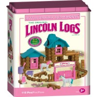 Lincoln Logs - Little Prairie Farmhouse Pink