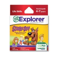 LeapFrog Scooby-Doo Pirate Ghost of the Barbary Coast Learning Game works with LeapPad Tablets LeapsterGS and Leapster Explorer
