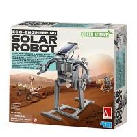 4M Green Science Solar Robot Kit - Energy Robotics Eco-Engineering STEM Toys Educational Gift for Kids & Teens Girls Boys Packaging May Vary