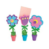 Flower Recipe or Picture Holder Craft Kit12 sets