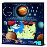4M Glow Planets & Nova Stars - Astronomy Space Stem Toys Gift Room Dcor For Kids Teens Boys Girls 3730