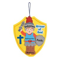 Armor of God Craft Kit Makes 12 - Crafts for Kids and Fun Home Activities
