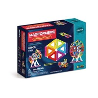 63074Magformers Creator Carnival Set 46-pieces Deluxe Building Magnetic Blocks Educational Tiles STEM Toy