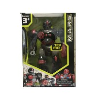 MARS Motorized Attack Robo Squad - Black Robot