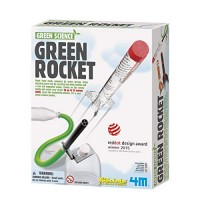 4M Green Science Rocket Kit - STEM Toys DIY Physics Experiment Launch Educational Gift