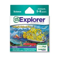 LeapFrog The Magic School Bus Oceans Learning Game Works with LeapPad Tablets LeapsterGS and Leapster Explorer