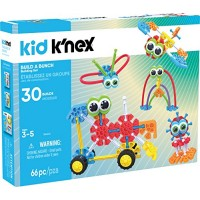 KID KNEx Build A Bunch Set 66 Pieces For Ages 3+ Construction Educational Toy Amazon Exclusive packaging may vary