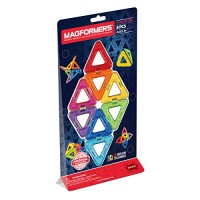 Magformers Triangles Set 8-Pieces Magnetic Building Blocks Educational Tiles Kit Construction STEM