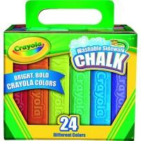 Crayola 24 Count Sidewalk Chalk 51-2024-E-000