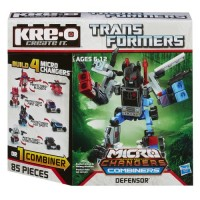 KRE-O Transformers Micro-Changers Combiners Defensor Construction Set A4474