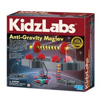 4M Kidzlabs Anti Gravity Magnetic Levitation Science Kit - Maglev Physics Stem Toys Educational Gift for Kids & Teens Girls Boys 3686