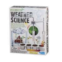 4M Weather Science Kit - Climate Change Global Warming Lab STEM Toys Educational Gift for Kids & Teens Girls Boys