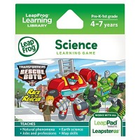 LeapFrog Transformers Rescue Bots Race to the