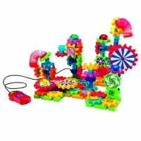 Learning Resources Gears Motorized Spin & Glow Building Set