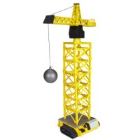 Power City Construction Mega Crane Building Kit