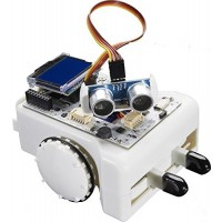 ArcBotics Sparki Robot - Programmable Arduino STEM Kit for Kids Complete Platform to Learn Robotics Coding and Electronics