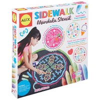 Alex Art Sidewalk Mandala Sweet Stuff Multicolor