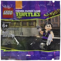 LEGO Teenage Mutant Ninja Turtles Flashback Shredder 6076195 6 Piece Polybag