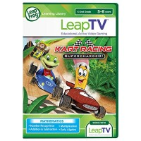 LeapFrog LeapTV Kart Racing Supercharged Educational Active Video Game
