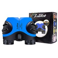 Luwint 8 x 21 Binoculars for Kids Mini Compact and Image Stabilized Educational Science Toys Gifts Boys Girls Ages 3-12 Years Old Blue