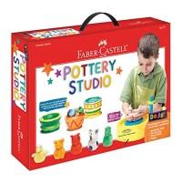 Faber-Castell Do Art Pottery Studio Wheel Kit for Kids