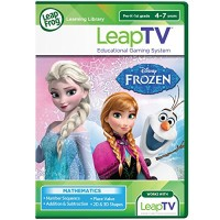 LeapFrog LeapTV Disney Frozen Arendelle's Winter Festival Educational Active Video Game