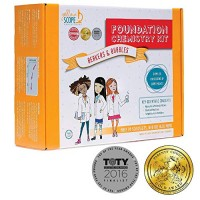 YELLOW SCOPE - Foundation Chemistry Kit Dozens of STEM Experiments That Take Girls Seriously