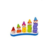 Cute Baby or Kids Wooden Stack Learning to Count Number Toy