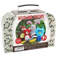 CraftLab Sewing Kits Woodland Animals Craft Educational Kit for 7 to 12 Age Kids