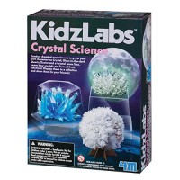 4M Kidzlabs Crystal Science Kit - DIY STEM Toys Lab Experiment Educational Gift for Kids & Teens