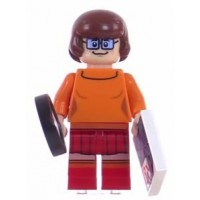 LEGO Scooby Doo Velma Minifigure from Set 75904