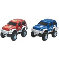 MMP Living Super Snap Speedway - 2 Pack of Electric Cars with Lights Compatible