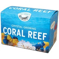 Crystal Growing Coral Reef Kit Copernicus Toys Official Terraformer Grows in hours Facts and instructions included