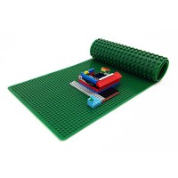Playscapes 32 Portable Building Brick 2-Sided Play Mat - Compatible with Popular Block Brands