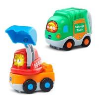 VTech Go Smart Wheels Garbage Truck and Excavator