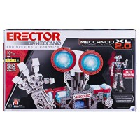 Erector by Meccano Meccanoid xL 20 Robot-Building Kit STEM Education Toy for Ages 10 & Up Amazon Exclusive