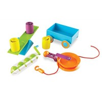 Learning Resources STEM Simple Machines Activity Set Hands-on Science Activities 19 Pieces Ages 5+
