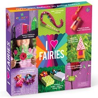 Craft-tastic I Love Fairies Kit - Craft Makes 8 Different Fairy Themed Projects