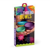 Craft-tastic Mini Thread Bowl Kit Craft Makes 3 Tiny Bowls