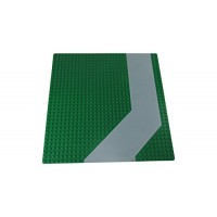 LEGO Z Road 32 x dot Green Baseplate