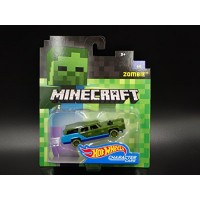 Hot Wheels Minecraft Zombie Character Cars