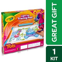 Crayola Trolls Light Up Tracing Pad Gift Toys For Girls Age 6 Educational Toys Planet